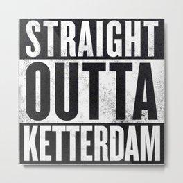 Straight Outta Ketterdam Metal Print