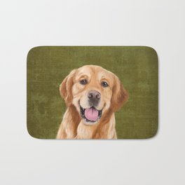 Golden Retriever Bath Mat