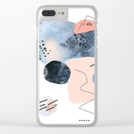 Winter's  Echo Clear iPhone Case