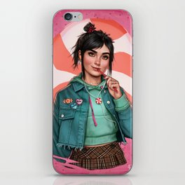 Candy princess iPhone Skin