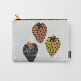 Strawberries Art Print Carry-All Pouch