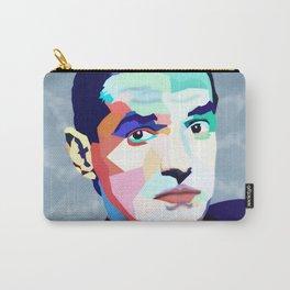 Portrait of Hans Holzel (Falco) Carry-All Pouch