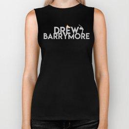 Drew Barrymore. Biker Tank