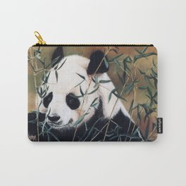 Panda Bear Pastel Painting Carry-All Pouch
