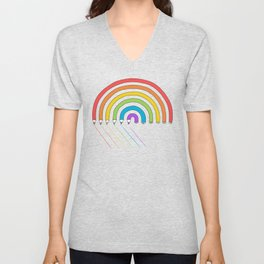 Pencil Rainbow Unisex V-Neck