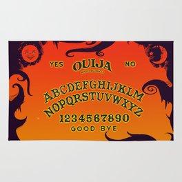 Scary Ouija Board Rug
