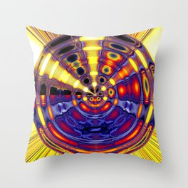 big thai gong Throw Pillow