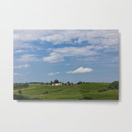 landscape in southern france Metal Print