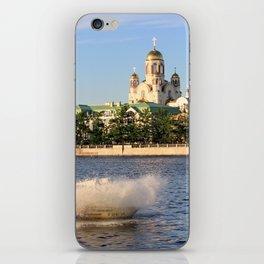 Yekaterinburg, Iset River iPhone Skin