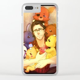 Markiplier is the savior of FNAF Clear iPhone Case