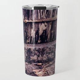 Wood and Stone Travel Mug