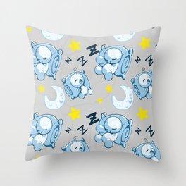 Cryaotic Pj Pants Design Throw Pillow