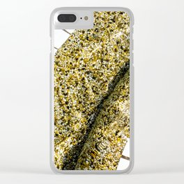 No. 5  Pool Bottom Clear iPhone Case