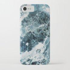 Blue Sea Marble iPhone 7 Slim Case