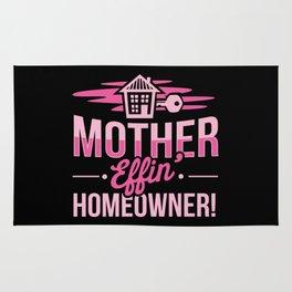 The Mother Effing Homeower Rug