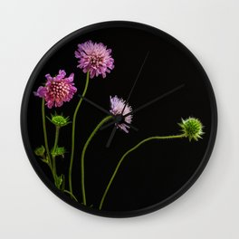 Lilac beauty Wall Clock
