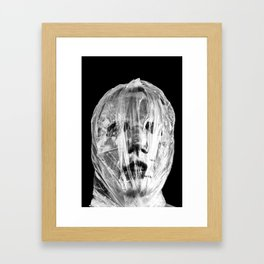 NOT THE LOVE YOU WANT Framed Art Print