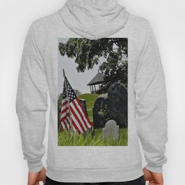 Old Burial Hill, Marblehead, MA Hoody