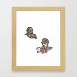Vices 4/10 Framed Art Print