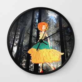 On my way! Wall Clock