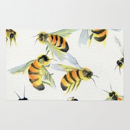 All About Bees Rug