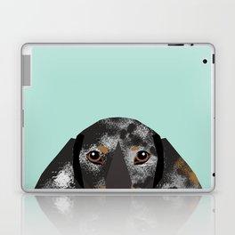 Doxie Dachshund merle dapple dog cute must have dog accessories dog gifts cute doxies dachshunds des Laptop & iPad Skin