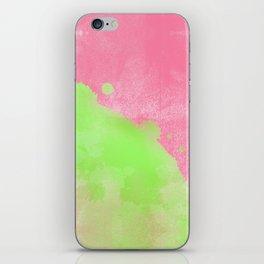 Pinkgreen SplashUp iPhone Skin