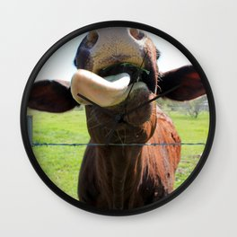 Can I Have a Lick? Wall Clock