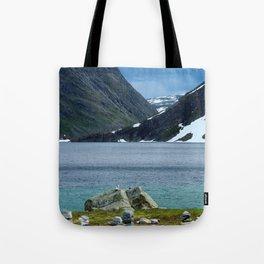 On the Trollstigen Road Tote Bag