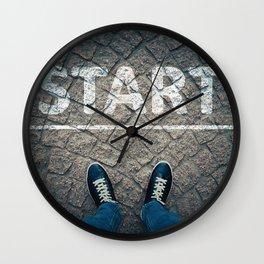 a new start Wall Clock