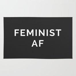 Feminist AF Quote Rug