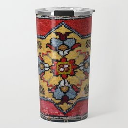 Antique Carpet Sadle Bag Travel Mug