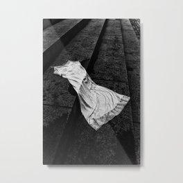 Silk And Stone Metal Print