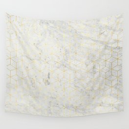 gOld 3D Wall Tapestry