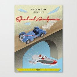 Streamline Design Poster Canvas Print