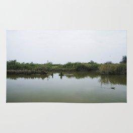 Peaceful lagoon Rug