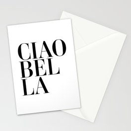 Ciao Bella Quote Stationery Cards