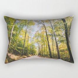 Forest Road - Muir Valley, Kentucky Rectangular Pillow