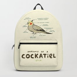 Anatomy of a Cockatiel Backpack