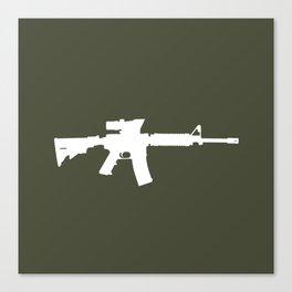 M4 Assault Rifle Canvas Print