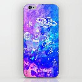 Atonic Space iPhone Skin