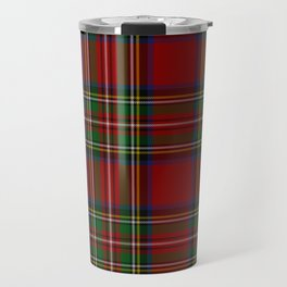 Royal Stewart Tartan Clan Travel Mug
