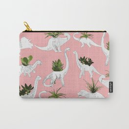 Dinosaurs & Succulents Carry-All Pouch