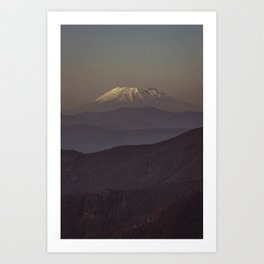 Mount Saint Helens Art Print