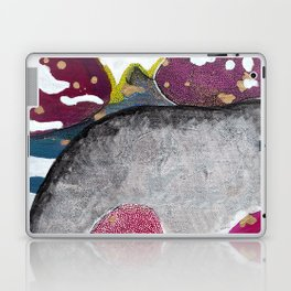 Just Float Hand Painted Acrylic Abstract Laptop & iPad Skin