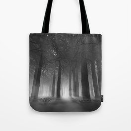 Soul of the Forest B&W Tote Bag