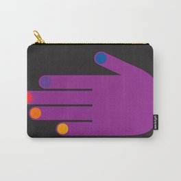 Purple Pop Hand Carry-All Pouch