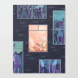 The Upside of Being an Introvert Canvas Print