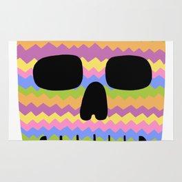 Zig-Zag Skull Rug