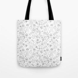 Outta Space white Tote Bag